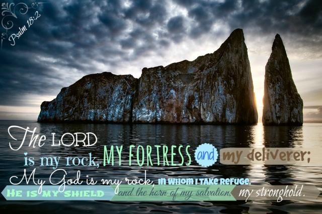 Psalm 18;2 KickerRock