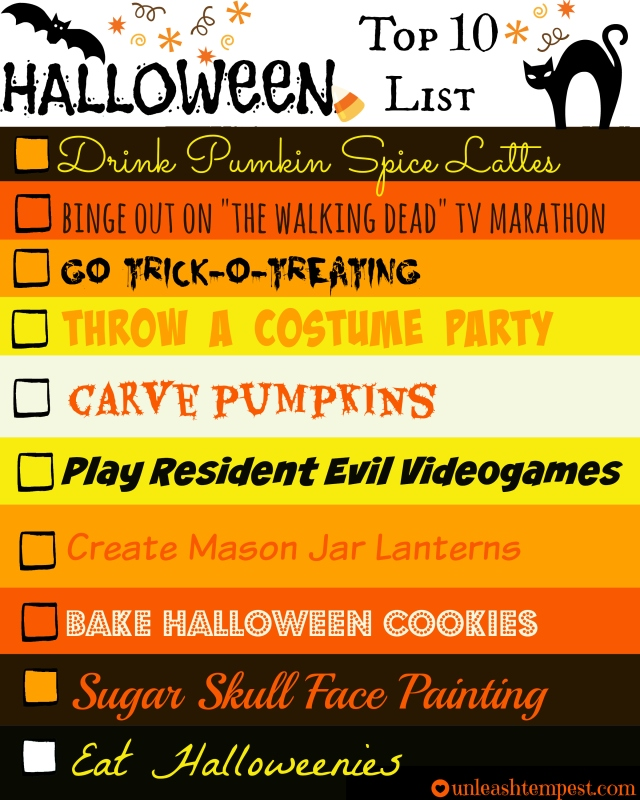 Halloween UTT Top 10 List (filled)