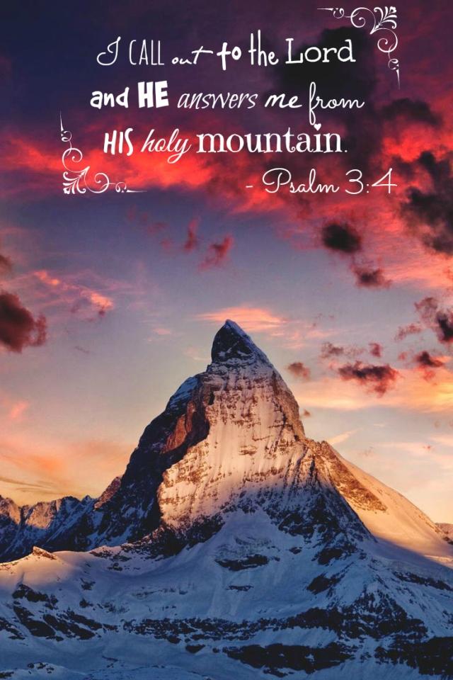Psalm 3.4