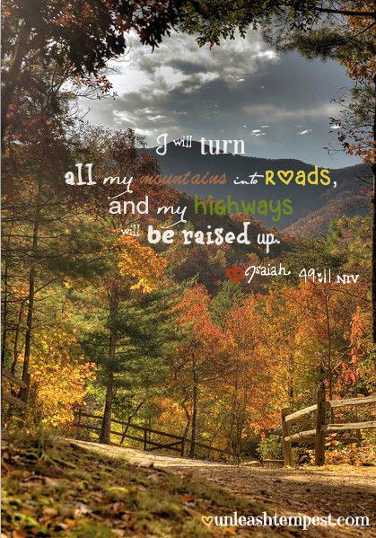Isaiah 49:11